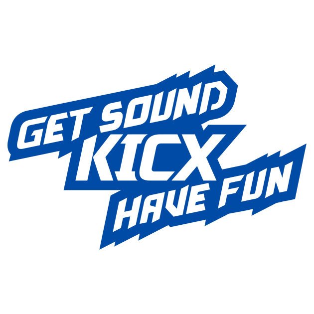 Наклейка Get sound KICX have fan