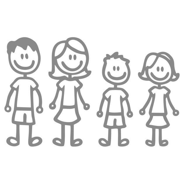 Азиатская счастливая семья. папа, мама, дочка и сын вместе ... | 630x630
