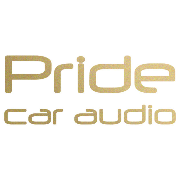 Наклейка PRIDE car audio