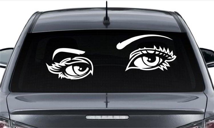 Наклейка на автостекло картинки