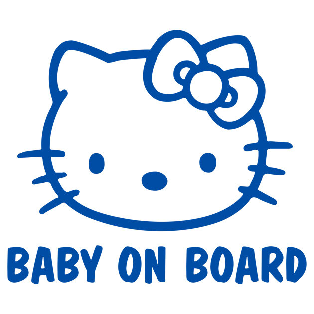 Baby on board (kitty)